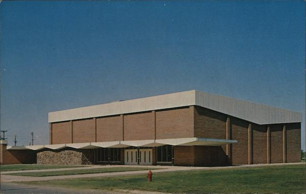 Hahn Physical Education Building, Bethany College Lindsborg Kansas