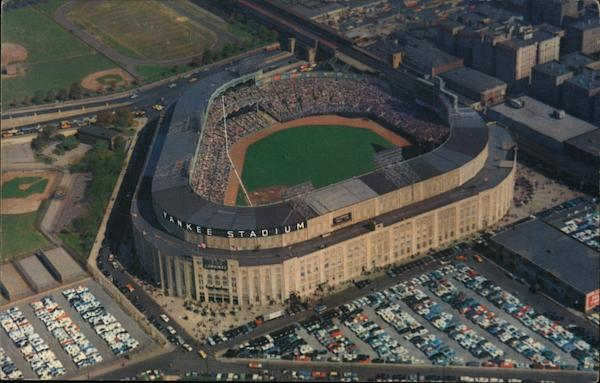 Airview of Yankee Stadium - 161st Street & River Avenue New York