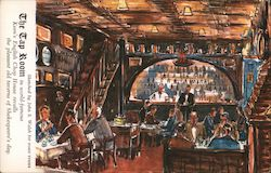 Keen's English Chop House Postcard