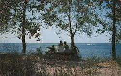 Picnicking on Presque, Isle State Park
