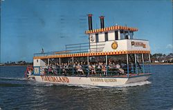 "Floridaland Sternwheeler Riverboat ""Harbor Queen"""