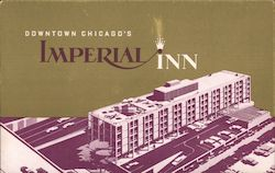 Downtown Chicago's Imperial Inn Postcard