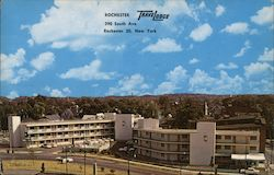 Rochester TraveLodge Postcard