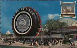 US Rubber Display, New York World's Fair Postcard