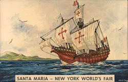 Santa Maria - New York World's Fair