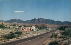 Entering Kingman, Arizona on Highway 93 Postcard