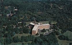Aerial view of St. Joseph's Manor, Long Hill Center