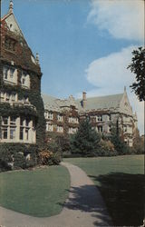 Kellas Hall, Emma Willard School Postcard