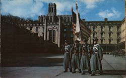 Color Guard of Cadets in Central Barracks