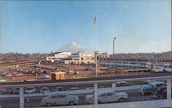 Mount Rainier As Seen From Seattle-Tacoma International Airport