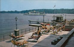 Lakeside Hotel & Motel Postcard