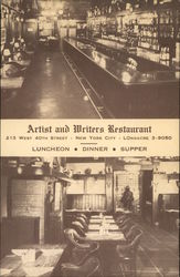 Artist and Writers Restaurant