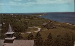 General View of North Chatham Postcard
