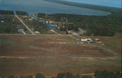 Aerial View of Airport on the East Shore