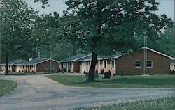 Independent Living Houses, St. Paul Homes Postcard