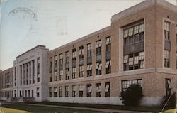 Beaumont High School Postcard