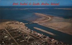 Aerial View of Port Isabel & South Padre Island
