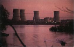 Three Mile Island Nuclear Generating Station Postcard