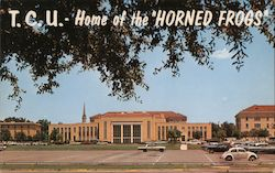 "T.C.U. - Home of the ""Horned Frogs"""