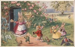 Bunnies Being Called to School