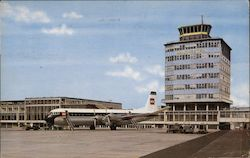 View of Airport Postcard