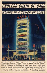 Nash Tower of Value Postcard