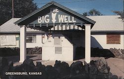 The World's Largest Hand-Dug Well Postcard