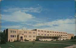 The Men's Residence Hall at Fort Hays Kansas State College