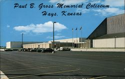 Paul B. Gross Memorial Coliseum Postcard