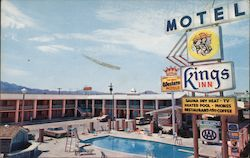 King's Inn Motel Postcard