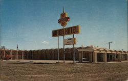 Whiting Bros. Motel Postcard