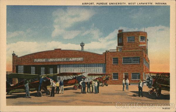 Airport, Purdue University West Lafayette Indiana