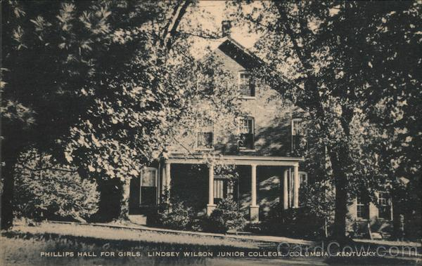 Phillips Hall for Girls, Lindsey WIlson Junior College Columbia Kentucky