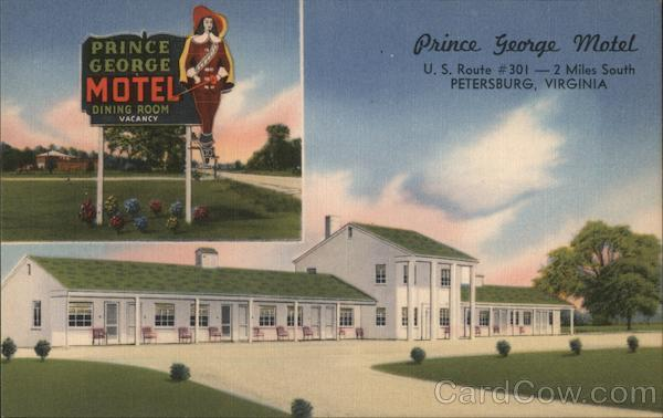 Prince George Motel Petersburg Virginia