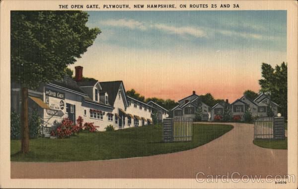 The Open Gate, On Routes 25 and 3A Plymouth New Hampshire