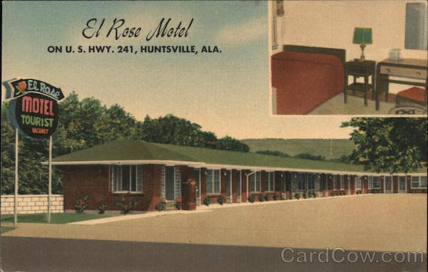 El Rose Motel Huntsville Alabama