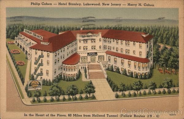 Philip Cohen - Hotel Stanley Lakewood New Jersey