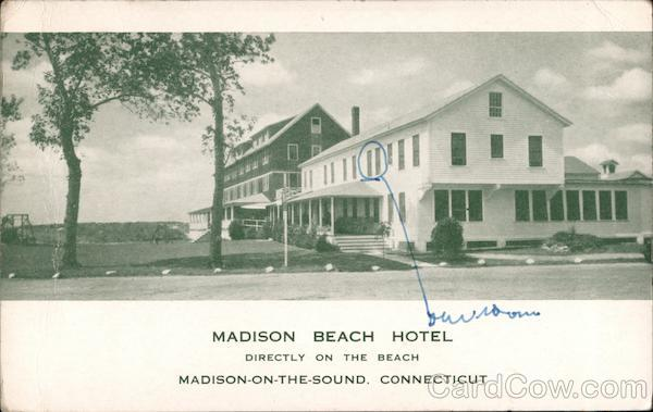 Madison Beach Hotel, Directly on the Beach Connecticut