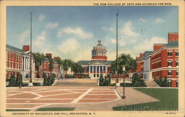 The New College of Arts and Sciences for Men, University of Rochester New York