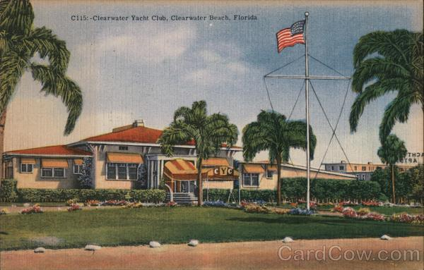 Clearwater Yacht Club Clearwater Beach Florida