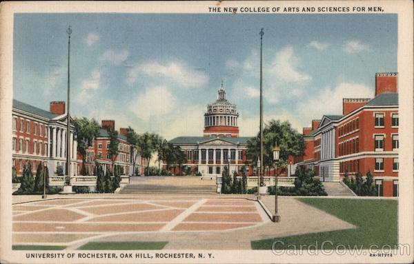 The New College of Arts and Sciences for Men, University of Rochester, Oak Hill New York