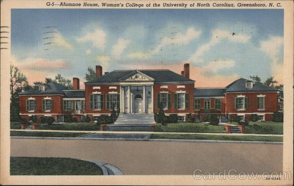 Alumnae House, Woman's College of the University of North Carolina Greensboro