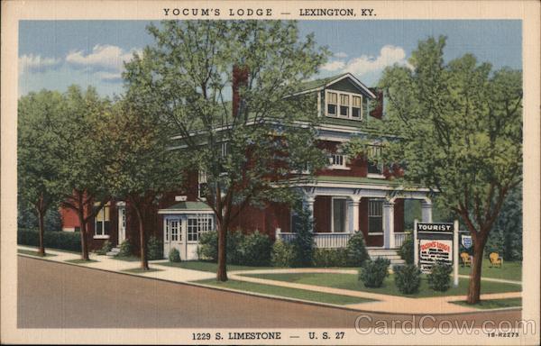 Yocum's Lodge Lexington Kentucky