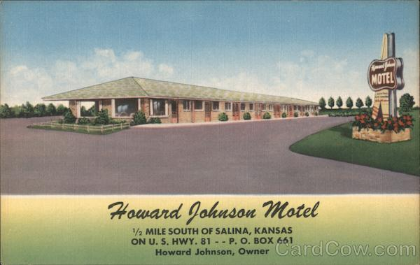 Howard Johnson Motel Salina Kansas