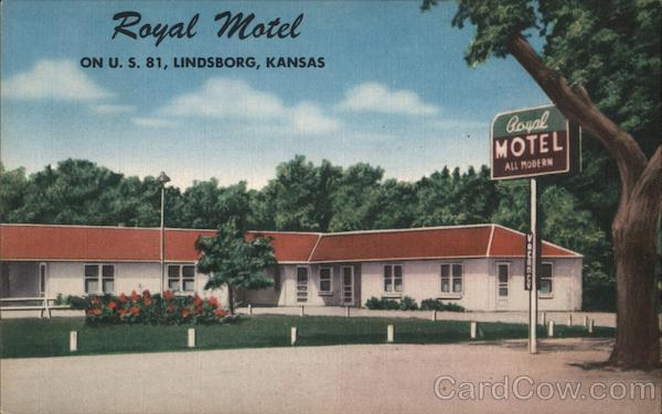 Royal Motel Lindsborg Kansas