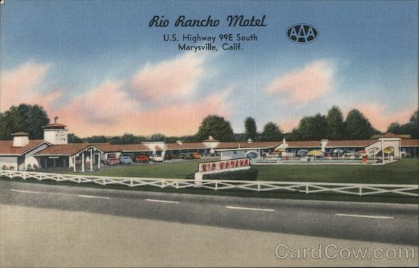 Rio Rancho Motel Marysville California