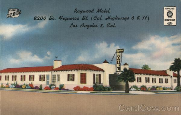 Raywood Motel Los Angeles California