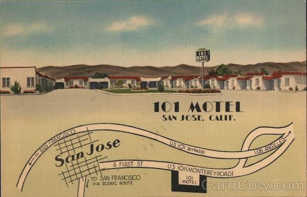 101 Motel San Jose California