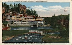 Troutdale-in-the-Pines, in Bear Creek Cañon Postcard