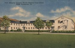 Sleeping Quarters (Annex) Hospital Corps School USNH